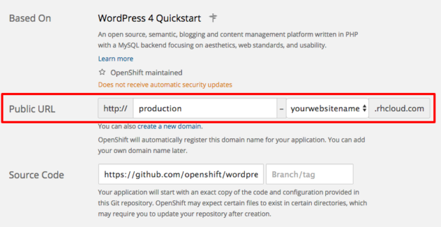 Create a New Application   OpenShift Online by Red Hat 2